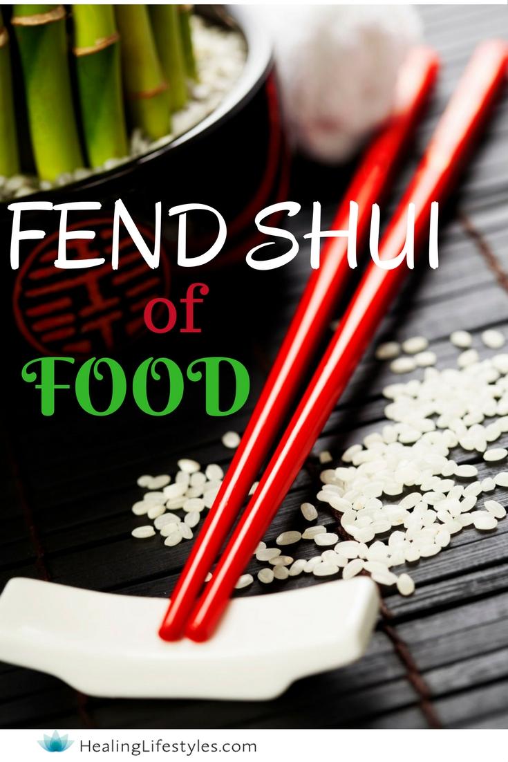 feng shui of food