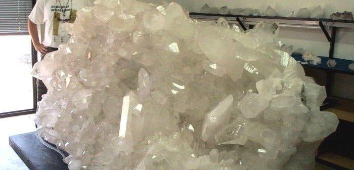 negative energy quartz