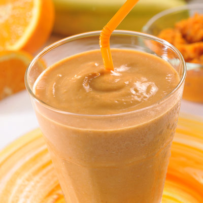 Ginger Pumpkin Protein Smoothie