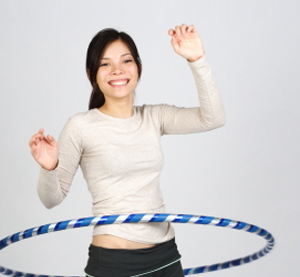 Hooping for Toned Hips