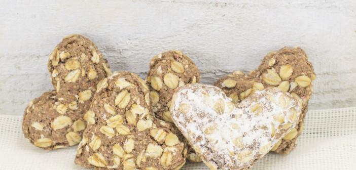 cookies flour heart