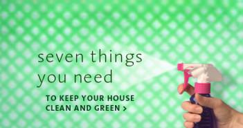 Keep House Clean & Green