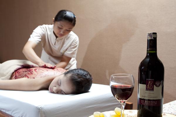 vino-therapy