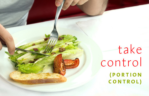 4 Ways to Lose Weight By Taking Control… Portion Control.