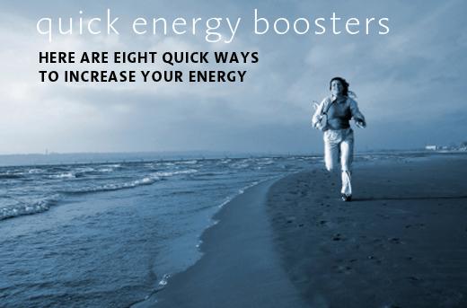 energy booster exercise beach