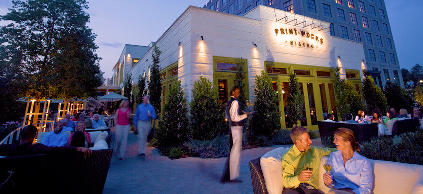 Proximity Greensboro Nc Restaurants