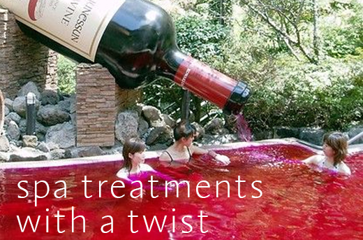 Spa Treatments With A Twist