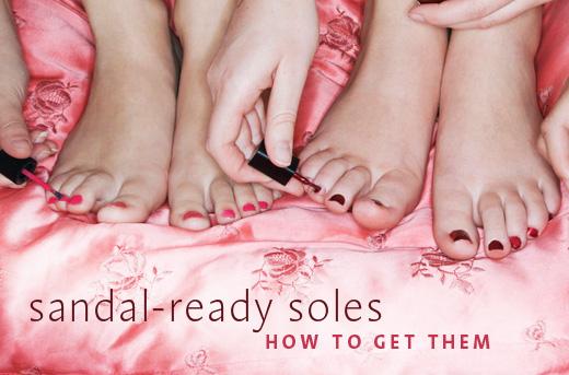 Sandal Soles foot care