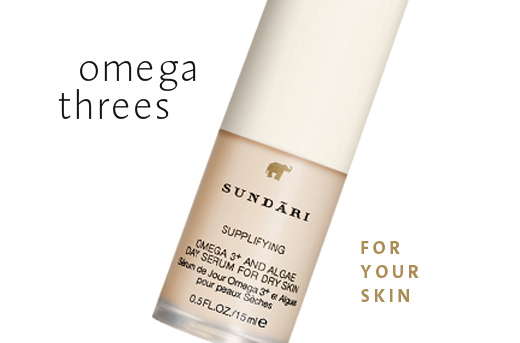 Omega 3s for your Skin
