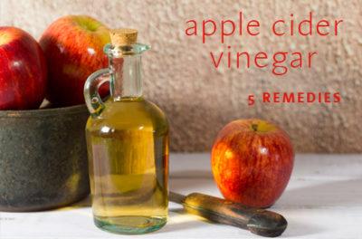 apple cider vinegar remedies