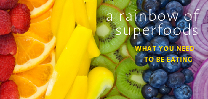 colorful superfoods