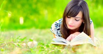 books, reading, girl