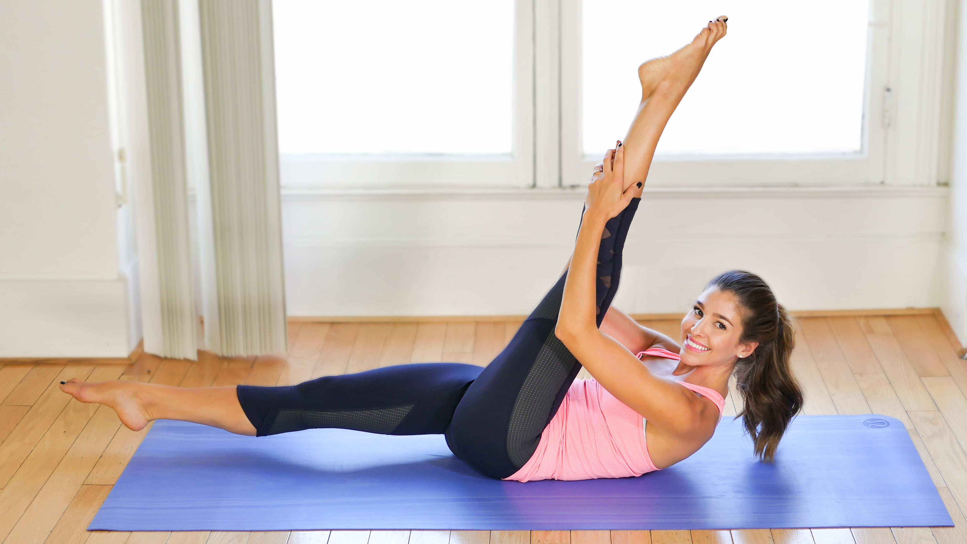Pilates (Intermediate): Fire Up Your Abs & Core