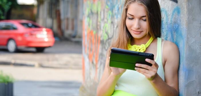 girl iPad beauty blogs