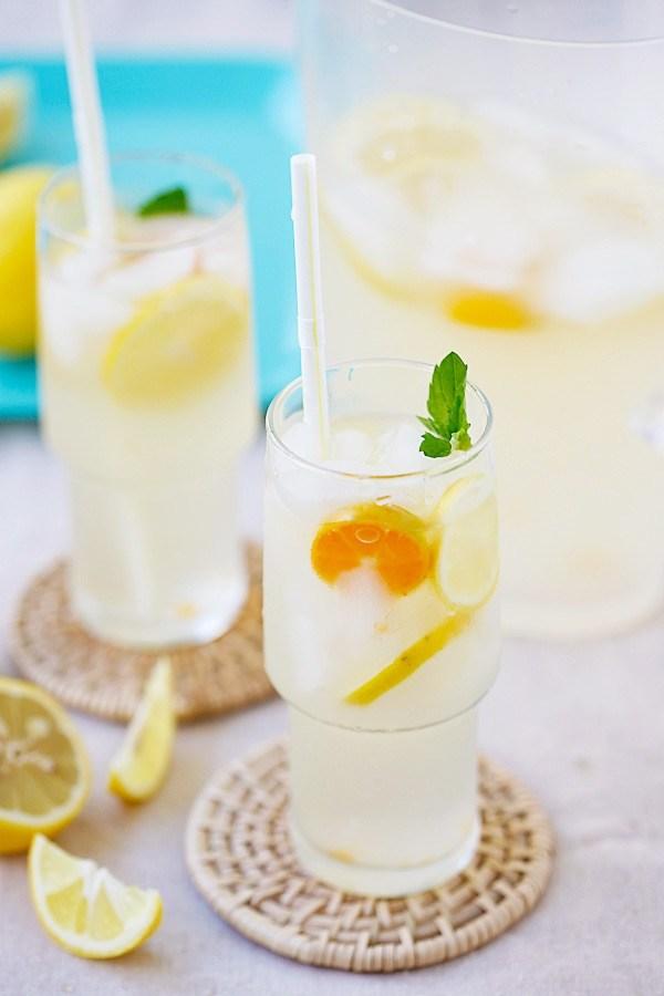 lemonade coconut water