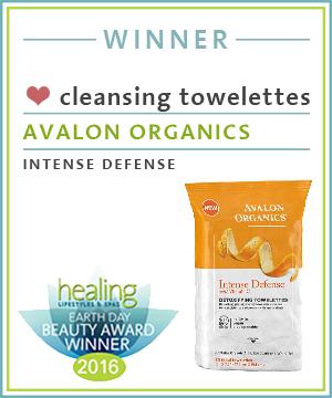 Cleansing TowelettesAvaloOrganicsIIntenseDefense
