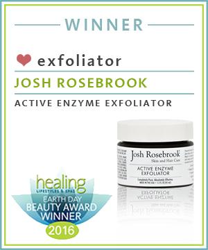 Exfoliator Josh Rosebrook Active Enzyme Exfoliator