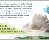 Earth Day Beauty Awards 2016