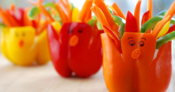 pepper turkey cups