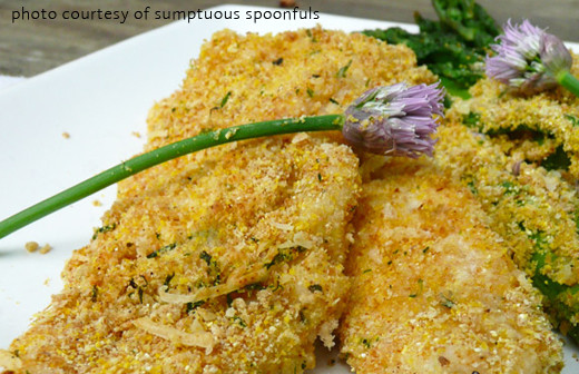 Chive Crusted Fish