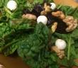 spinach beet salad