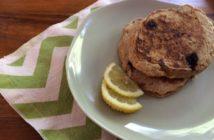 Lemon Coconut Blueberry Pancakes
