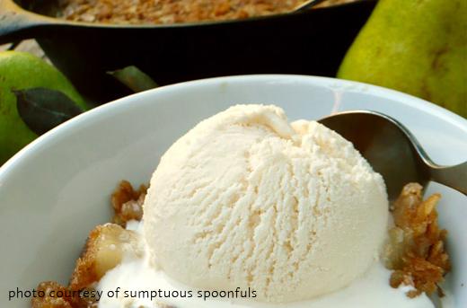 Cardamon Pear Crisp