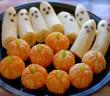 Healthy Halloween Snack Spooky fruit plate