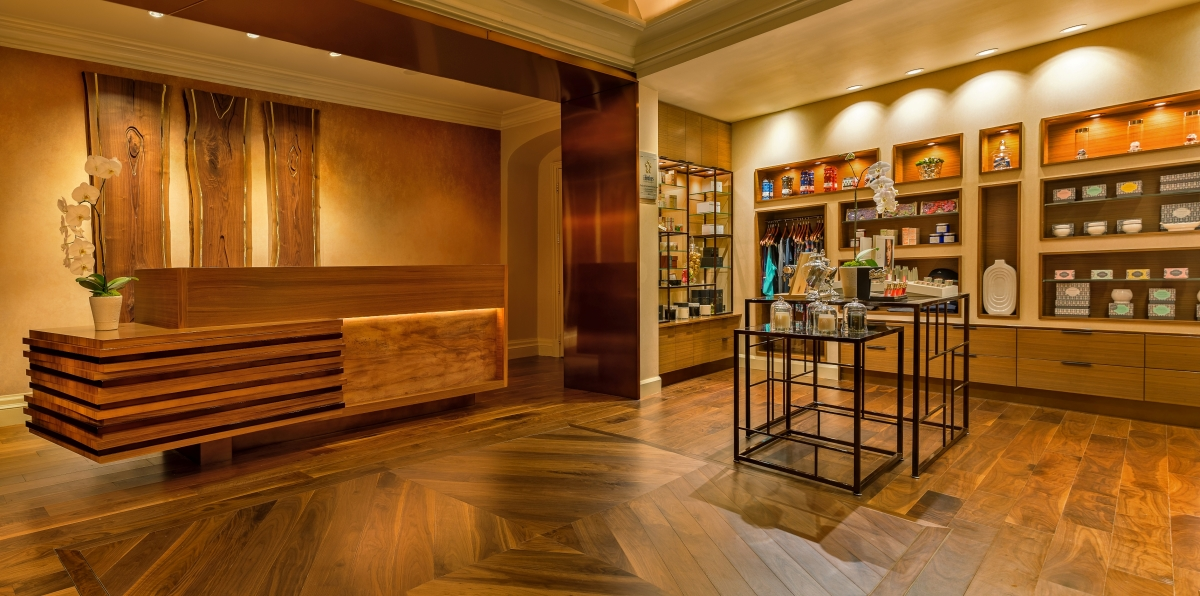 Melting away your stresses at the spa at the four seasons for 4 seasons beauty salon