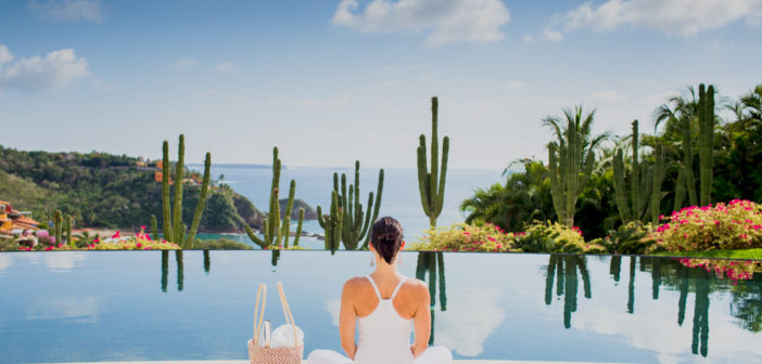 A Yoga Getaway Leads To Wedding Vows In Costa Careyes, Mexico