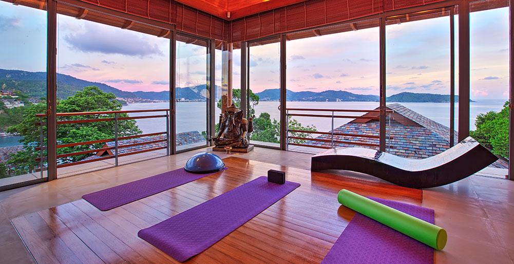 8. Yoga Room