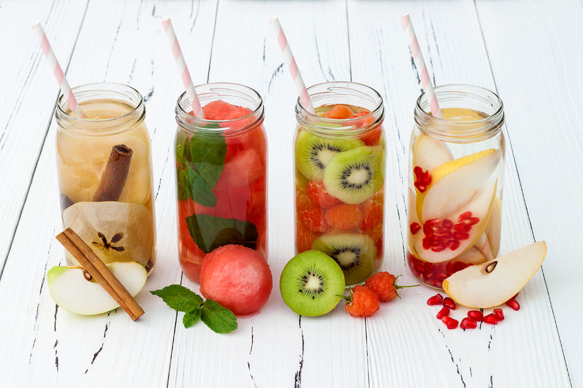 fruit-infused water