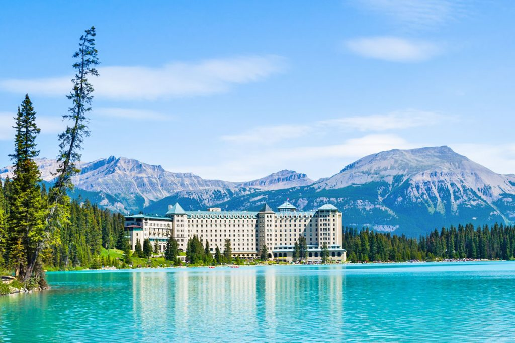 Eco Wellness Destination no. 1: Fairmont Chateau Lake Louise