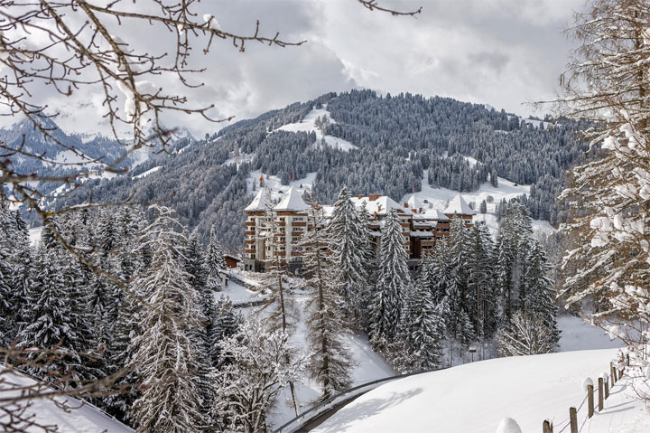 Eco Wellness Destination no. 2: Alpina Gstaad, Switzerland