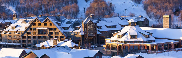 Eco Wellness Destination no. 7: Stowe Mountain Lodge, Vermont, USA
