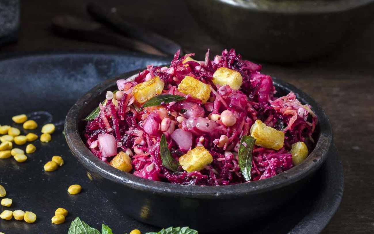 purple food